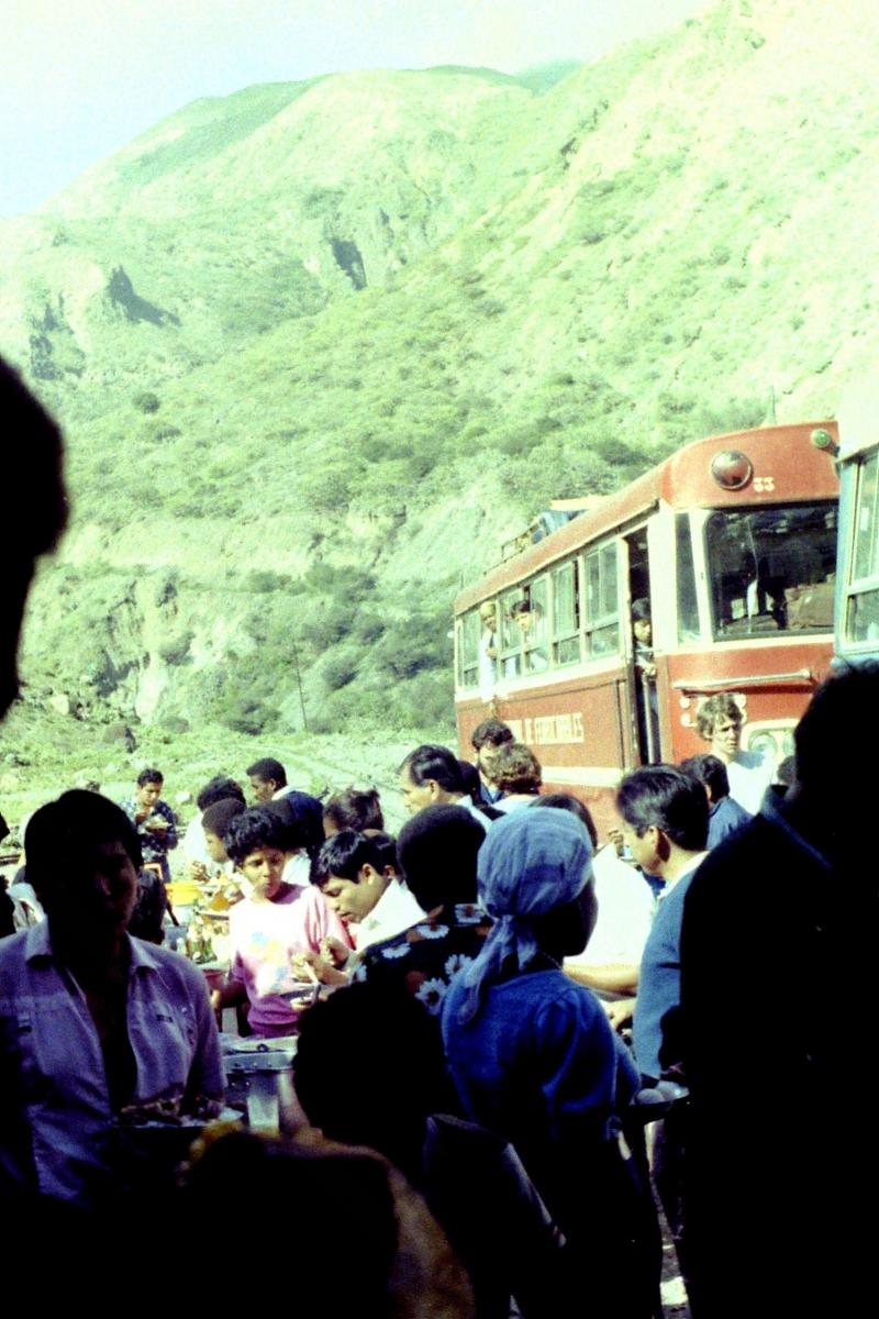 Train at San Martin